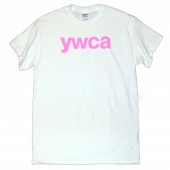 YWCA White Logo Tee
