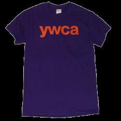 YWCA Deep Purple Tee
