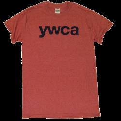 YWCA Heather Cardinal Tee
