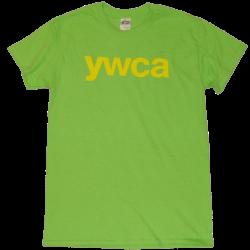 YWCA Lime Tee