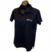 YWCA Harriton Black Polo Shirt