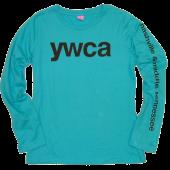 YWCA Long Sleeve Turquoise Tee