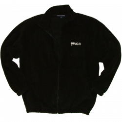 YWCA Black Fleece Jacket