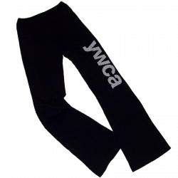 YWCA Black Yoga Pants