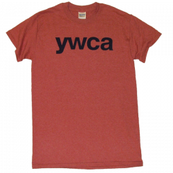 YWCA Heather Cardinal Tee