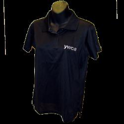 YWCA Harriton Black Polo Shirt