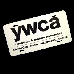 YWCA License Plate